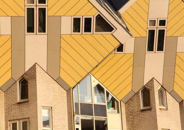 Cube House - Detail