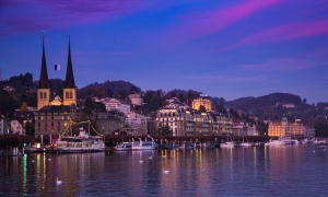 Lucerne Night View