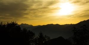 Sunset seen from Bürgenstock