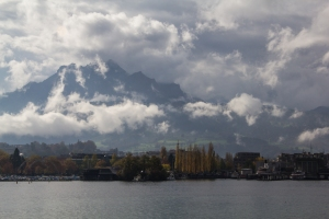 Pilatus seen from the Boat